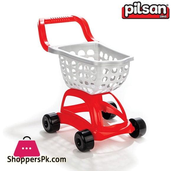 Pilsan Kids Sweet Shopping Cart Turkey Made 07-604