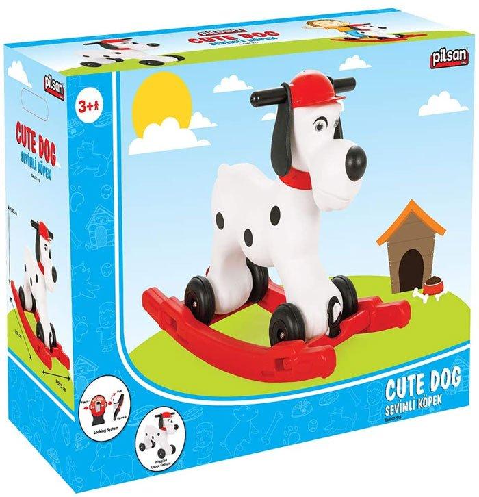 Pilsan Rocking Cute Dog Toy Turkey Made 2 to 10 Years kid 07-913