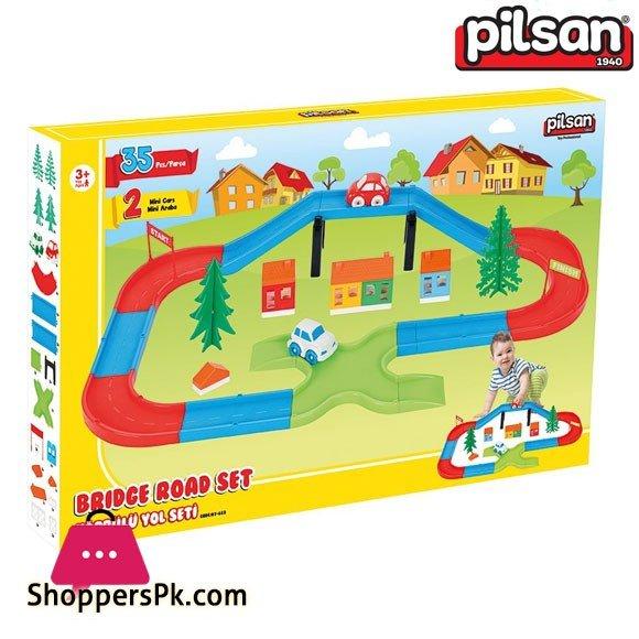 Pilsan Track Garage Set 35 Pcs Turkey Made 07-683
