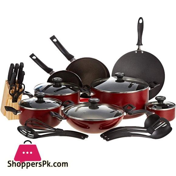 Prestige Nonstick Cookware Set 25 Pieces - 20499
