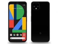 Google Pixel 4 (4G, 6GB RAM, 128GB ROM, Black) - Non PTA