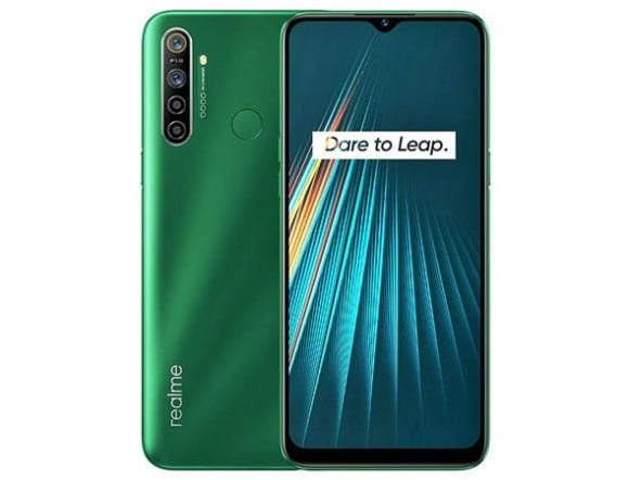 Realme 5i Dual Sim (4G, 4GB, 64GB, Green) With Official Warranty