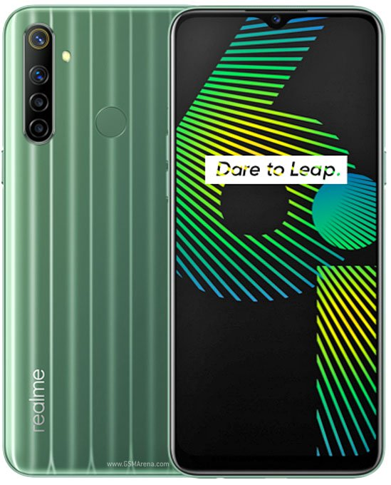 Realme 6i Dual Sim (4G, 4GB, 128GB,Green Tea) With official Warranty