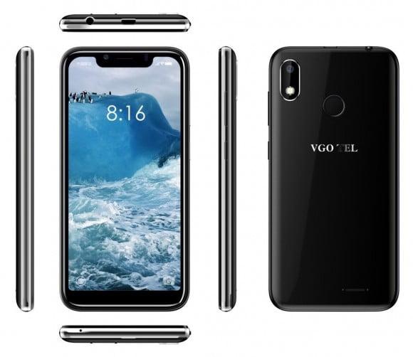 VGO TEL Smart 5 Black with Official Warranty