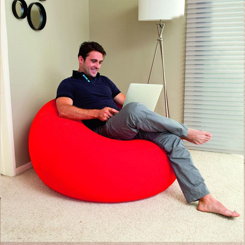 Bestway Single Flocking Inflatable Sofa 75052