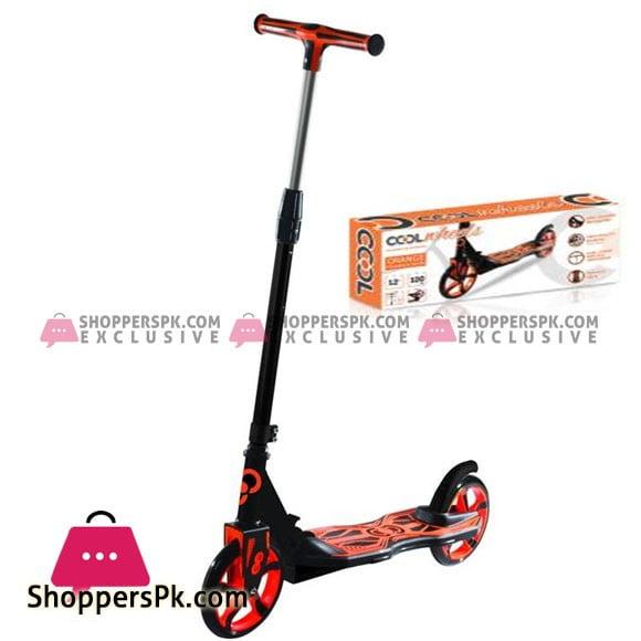 Cool Wheels 2 Wheel Maxi Scooter Orange 12+ Age Turkey Made FR58505
