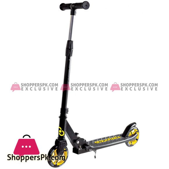 Cool Wheels Rock 8+ Foldable Scooter Yellow Turkey Made FR58345