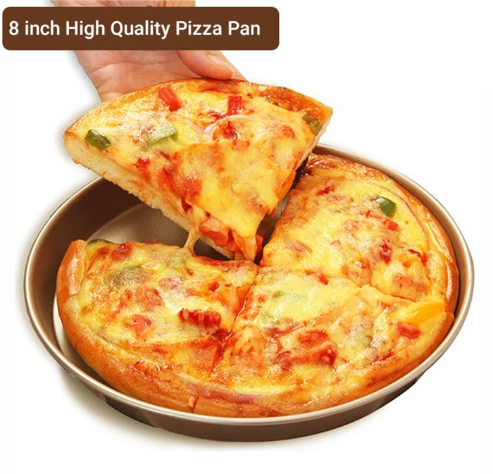 High Quality Non-Stick Pizza Pan 8 Inch