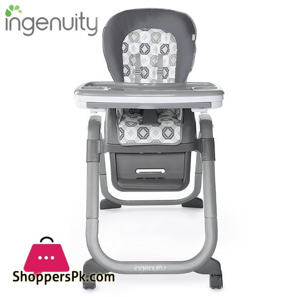 Ingenuity SmartServe 4-in-1 High Chair with Swing Out Tray