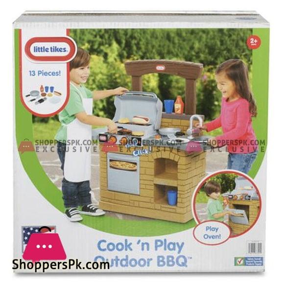 Little Tikes Cook'n Play Outdoor BBQ Kids Play Kitchen Set LT633911
