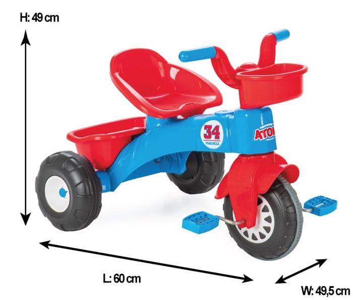 Pilsan Atom Tricycle Turkey Made 07-169