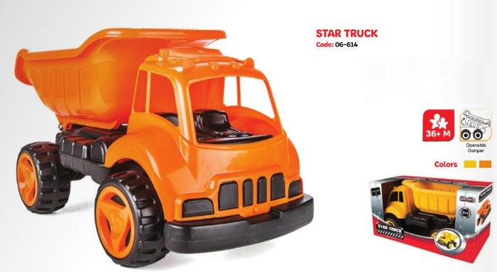 Pilsan Friction Star Truck Toy Turkey Made 06-614