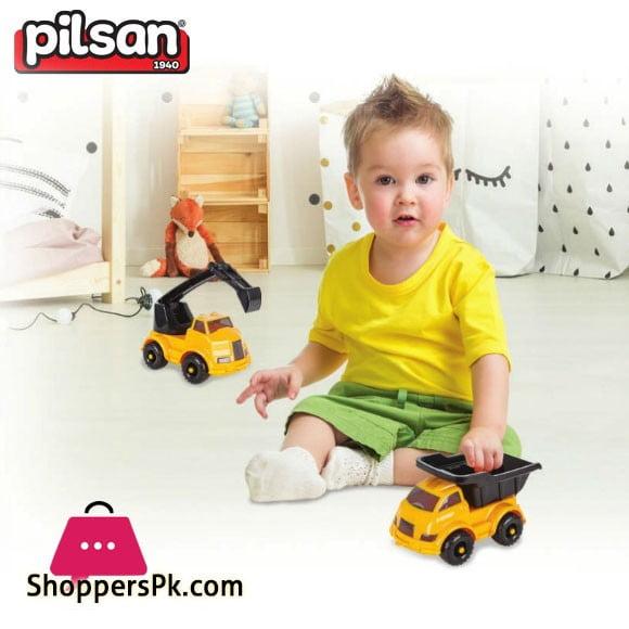 Pilsan Truva Construction Toy Friction Truck Turkey Made06-626