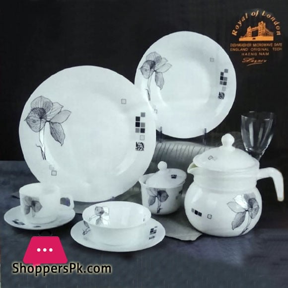 Royal of London 72 Piece Marble Dinner Set