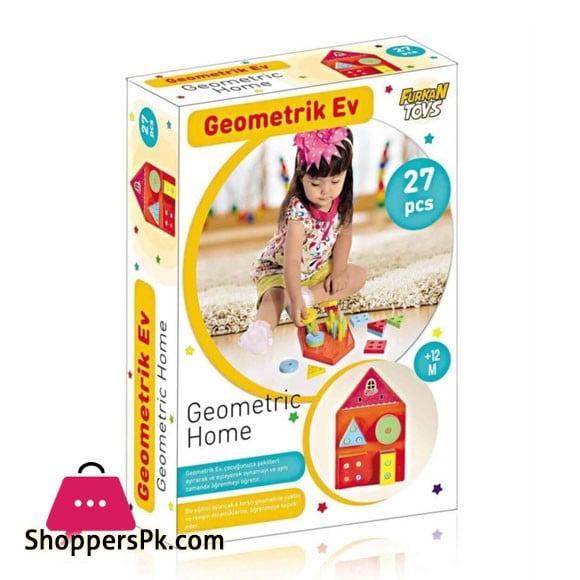 Turkey Made Educational Geometric House FR55825