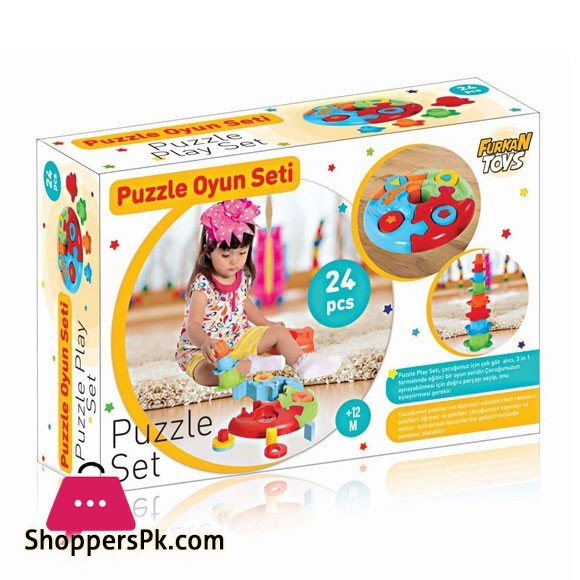 Turkey Made Educational Puzzle Set FR55849
