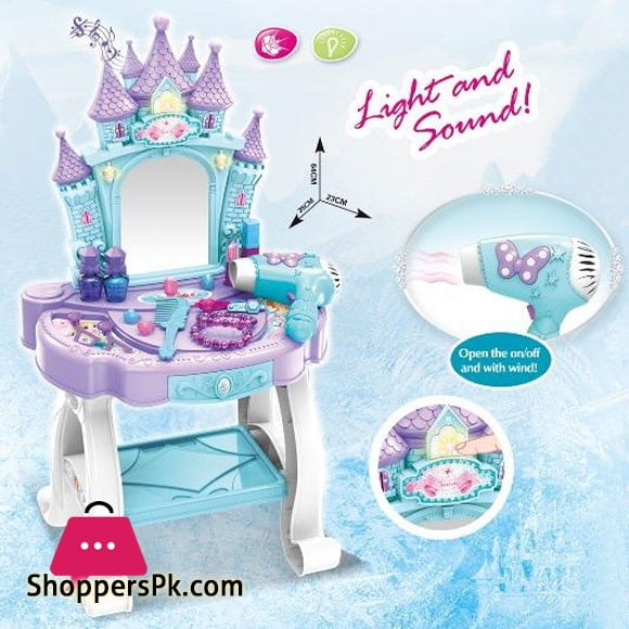 Beauty Angel Dressing Set of Baby Girl with Light Music
