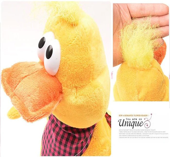 Crazy Funny Dancing Doll Singing Duck, Electric Musical Stuffed Plush Toy For Children