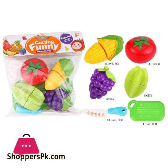 Fruit Cutting Play Toy Set 6106