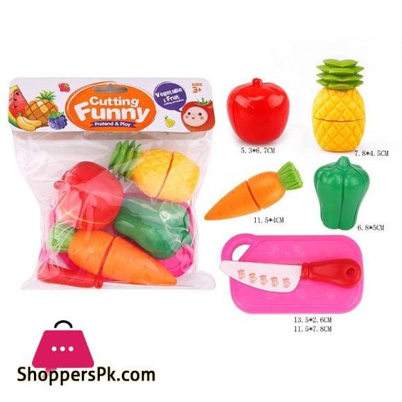 Fruit Cutting Play Toy Set 6105