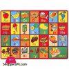 Kids Alphabet and Numbers Play Rug Kids Carpet Educational Area Rug Fun Play Mat Non-Slip Gel Back Rug Carpet 3 x 5 Feet
