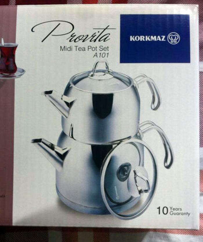 Korkmaz Turkish Teapot Provita Maxi