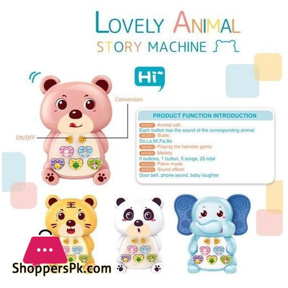 Lovely Animal Story Machine Toy