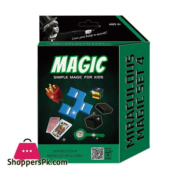 Magician Amazing Magic Set kids Play Fun Game Easy Learn Magic 5 Tricks 2560