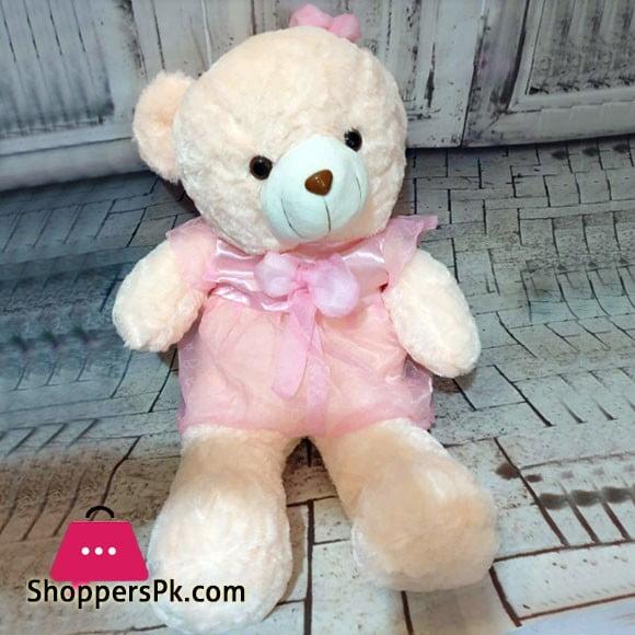 Stuff Teddy Bear Large with Pink Ribbon 3 Feet N28