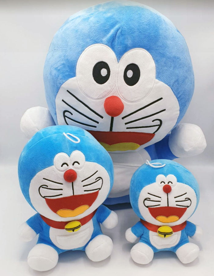 Stuffed Toy Doraemon Stuff Plush For Kids Medium