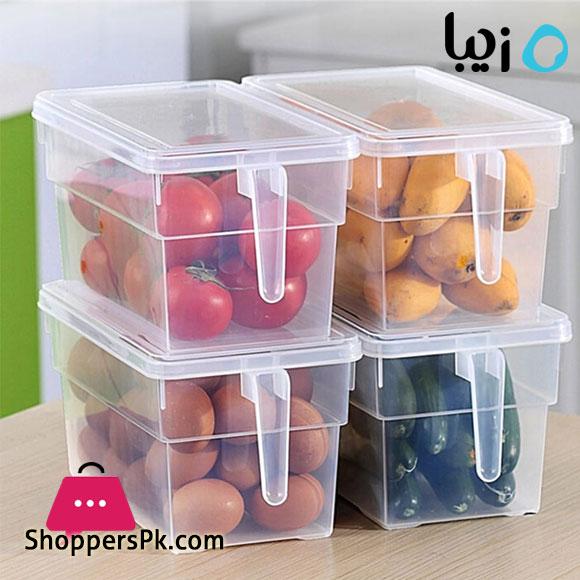 Ziba Sazan Kitchen Refrigerator Storage Box With Cover Iran Made