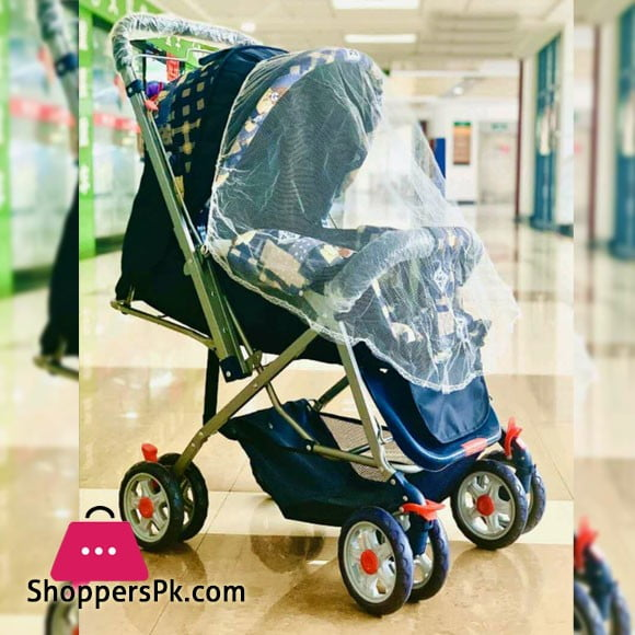 3 Position Baby Stroller Blue 008W