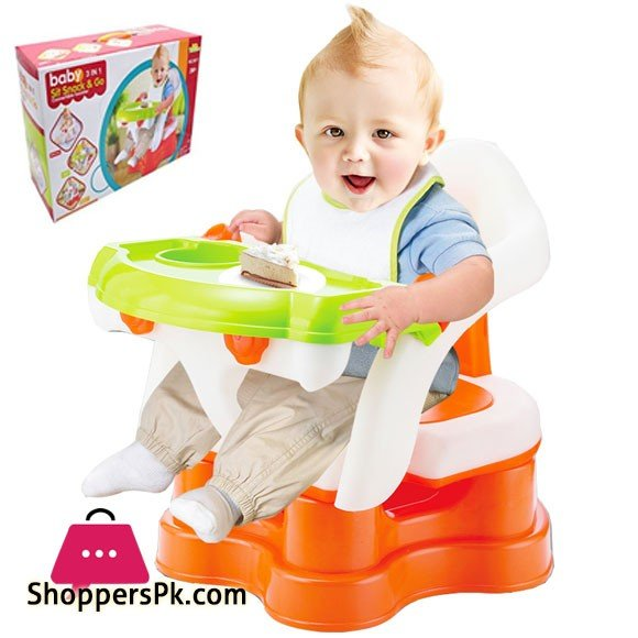 Baby Sit Snack & Go 3 in 1 Convertible Booster