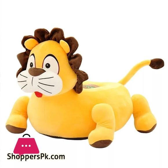 Baby Soft Plush Cushion Baby Sofa Seat Lion Shape