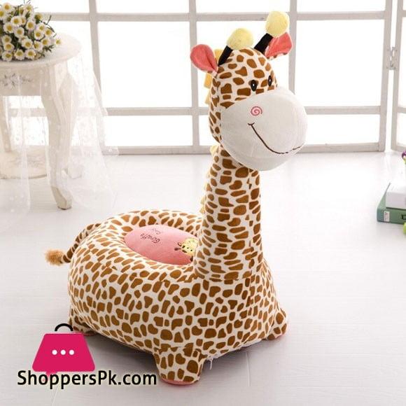 Baby Soft Plush Non-slip Cushion Seat - Giraffe