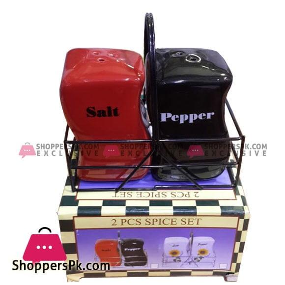Ceramic 2 Pcs Salt and Pepper Shaker