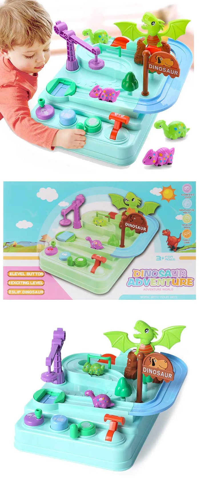 Dinosaur Adventure Play Set 5577-18