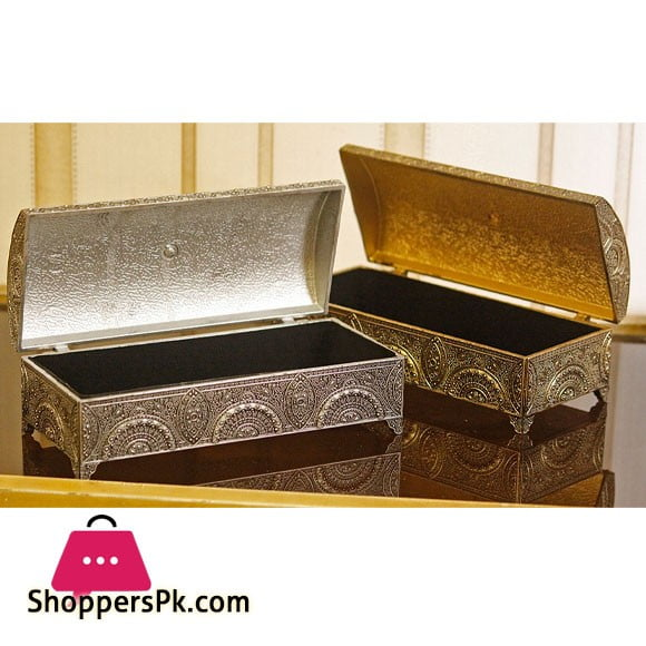 Fiber PVC Plastic Jewellery Box 1 - Pcs