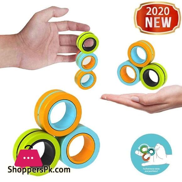 New Fingears Magnetic Rings Fidget Toy