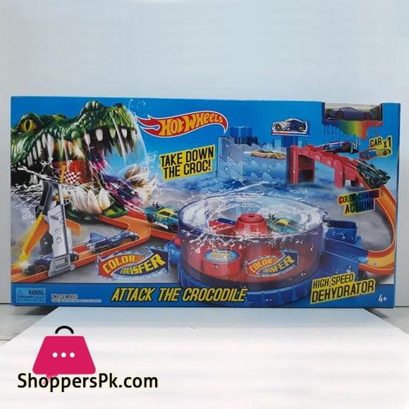 HOT WHEELS - Attack The Crocodile Alligator Hot Wheels Track
