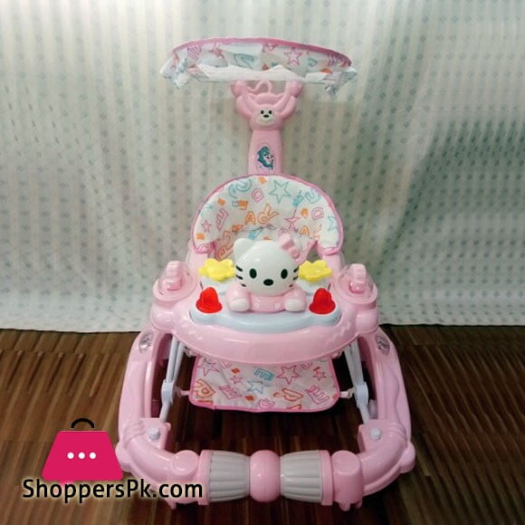 High Quality 2-in-1 Hello Kitty Walker and Rocker 503