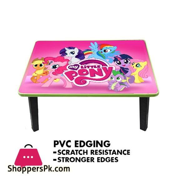 Kids Folding Wood Table - My Little Pony