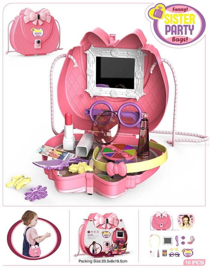 Kids Shoulder Bag Play Set Sister Party Bag