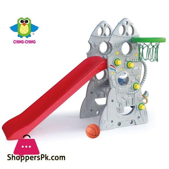 Kids Slide with Basketball Hoop - SL-18