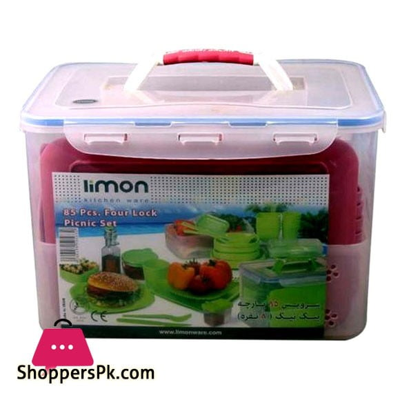 Limon Picnic Set 85 Pieces ( 8 Person )
