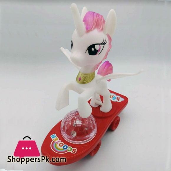 Little Pony Toy with Light Music Bump HC021C