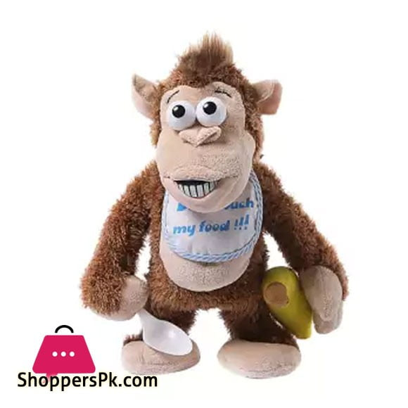 Naughty Crying Monkey Electronic Stuffed Animal Toy Developmental Baby Toy