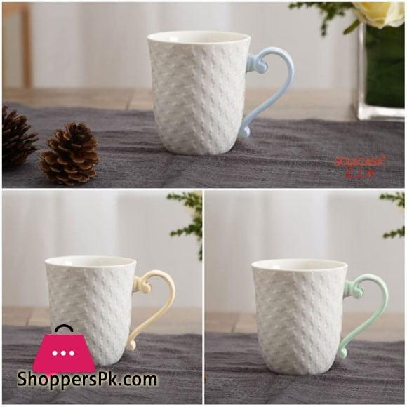 Solecasa Tea Cup Color Handle ( Set of 6 )