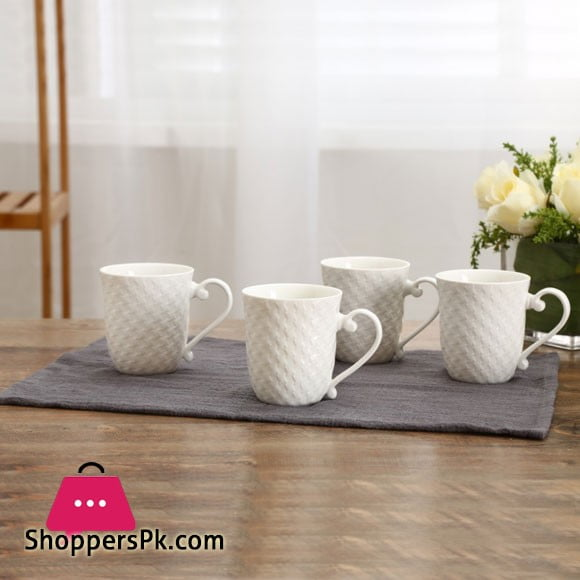 Solecasa Tea Cup Plain ( Set of 6 )