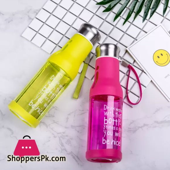 Water Bottle With Rope 600ML